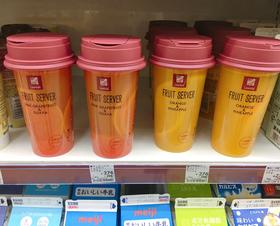 ローソンのチルド飲料「フルーツサーバー」が万能すぎる! 容器が機能的で炭酸・酒を入れれば即席カクテルに