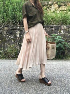 【丈の長さ・ブランド別】シフォンプリーツスカートを解説します!