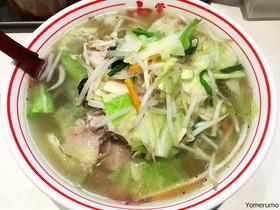 【激辛】蒙古タンメン中本の最高料理はまったく辛くない塩タンメン! 常連ほどタンメンが大好き