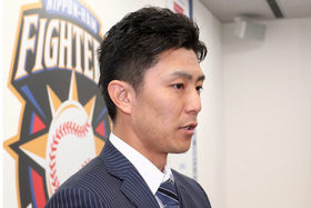 FA権行使のハム増井に島田球団代表「絶対に必要な選手」 契約期間も焦点に
