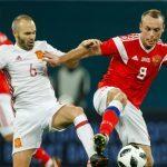 スペイン、W杯開催国ロシアと打ち合いに…PK2発も、3失点でドロー
