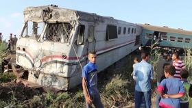 エジプトで列車同士が衝突、37人死亡