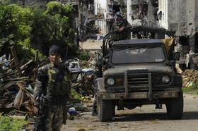 ISIS×フィリピン国軍による銃撃戦後の生々しい傷跡<現地レポート>